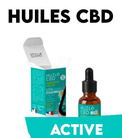 Huiles CBD STILLA Collection Active