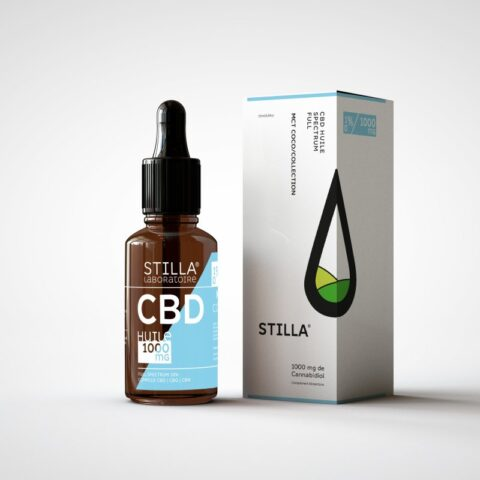 huile cbd stilla 10 full spectrum mct coco