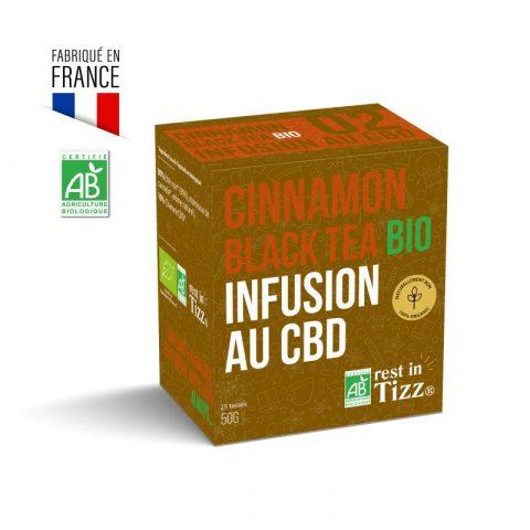 infusion bio au cbd cinnamon black tea